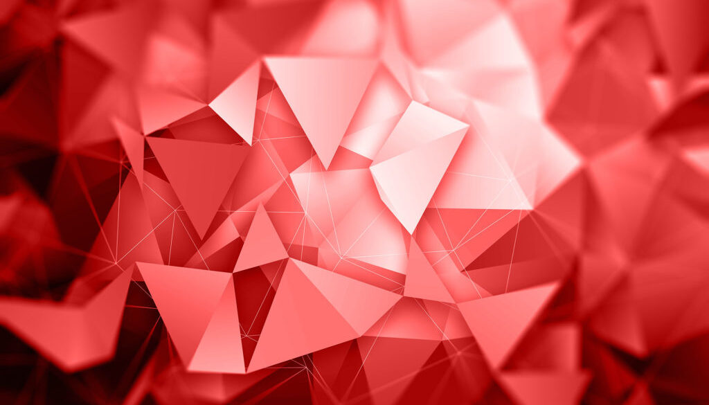 3D low poly abstract background