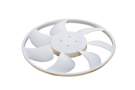 Objet1000 Plus Radiator Fan Part Top View (White Background)